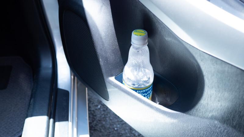 車内のペットボトルの忘れ物