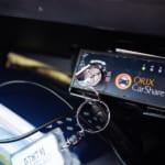 オリックスカーシェアのグローブボックス内の鍵