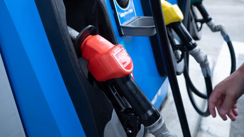 セルフガソリンスタンドの画像