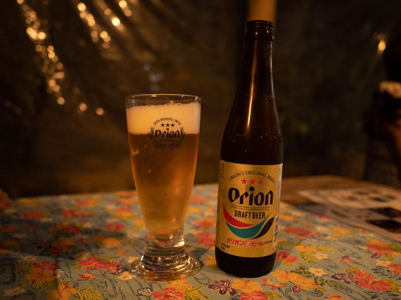 ちゃんや~(沖縄)のオリオンビール