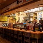 割烹常(沖縄)のカウンター