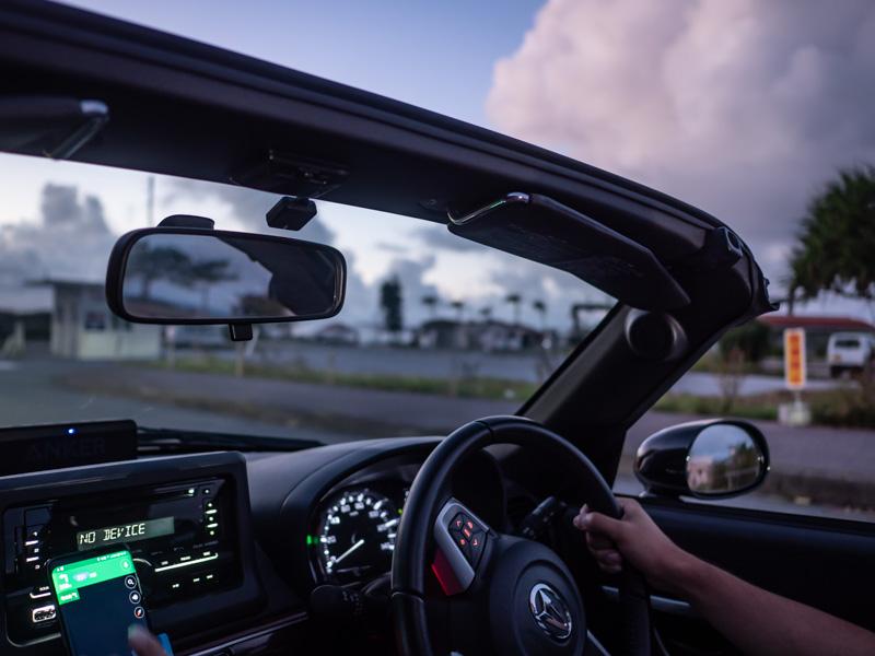 夏の沖縄をオープンカーでドライブ!実際にAnycaで借りてみました
