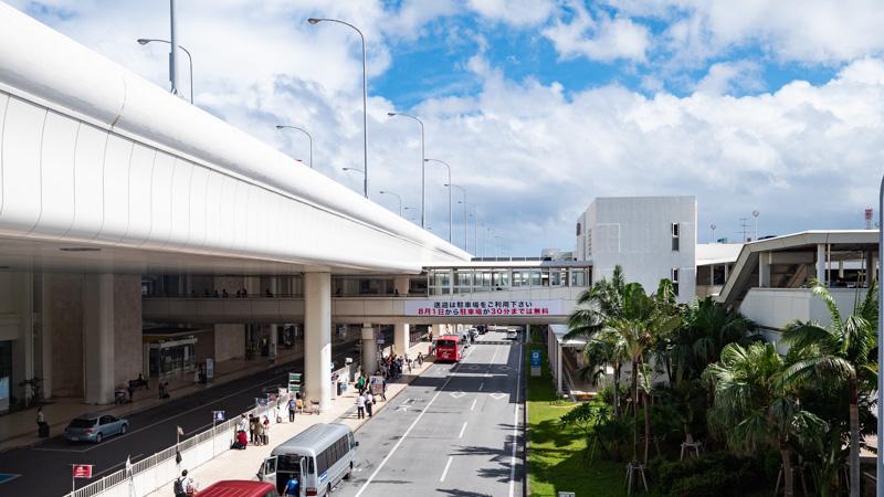 那覇空港の外観
