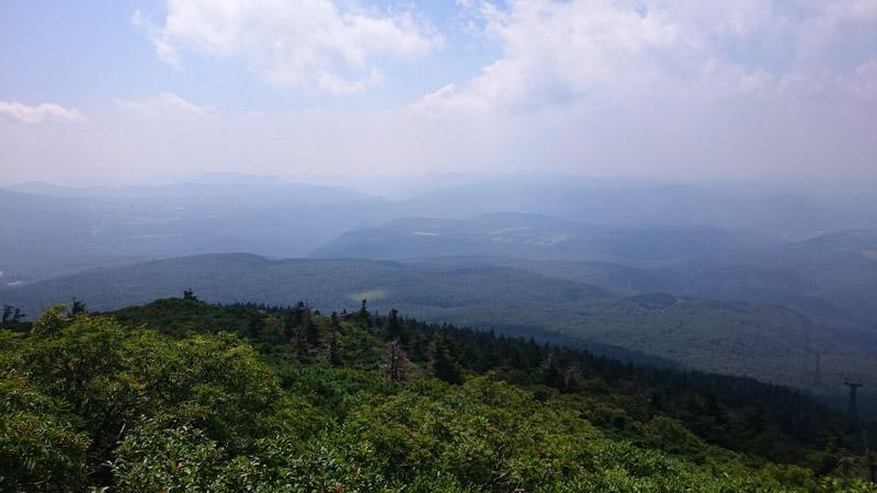 八甲田ロープウェー山頂駅から観られる景色