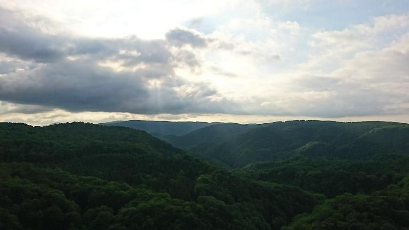 青森市・城ヶ倉大橋から見える絶景