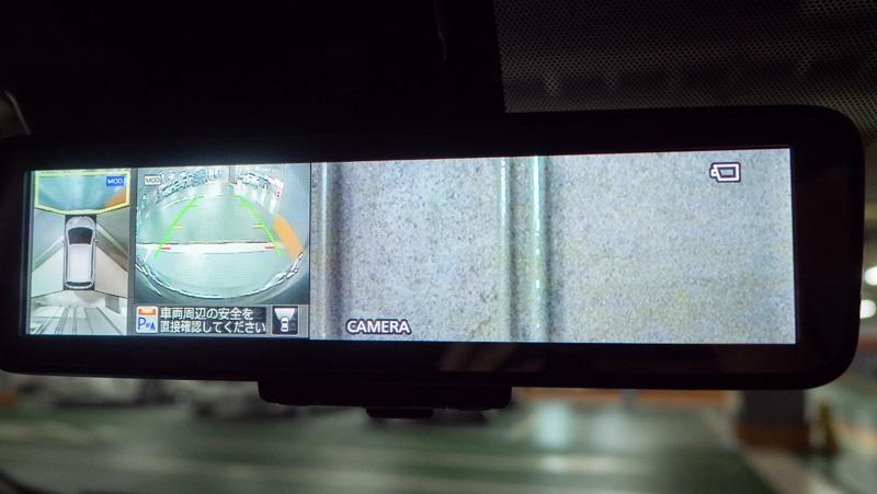 日産ノートに装備されているスマートルームミラー