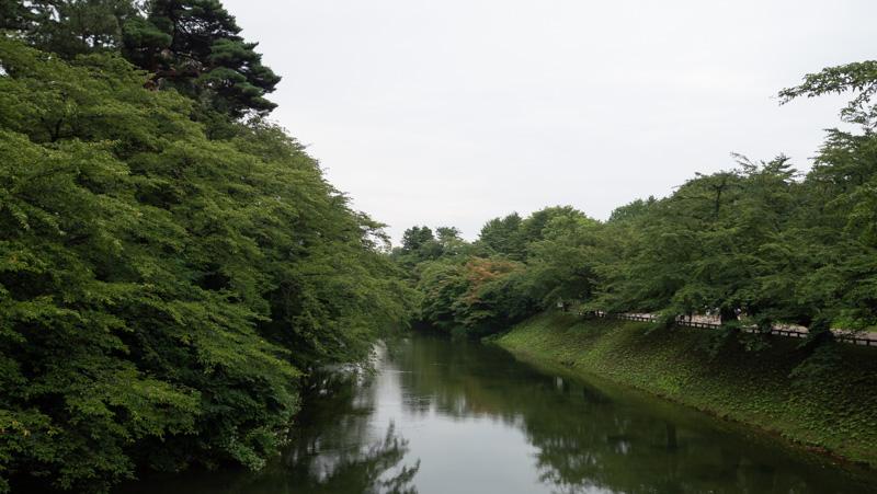 夏の弘前公園