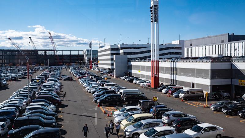 新千歳空港駐車場